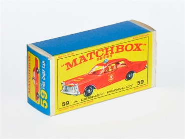 matchbox store ford galaxie fire chief car no 59c1. Black Bedroom Furniture Sets. Home Design Ideas