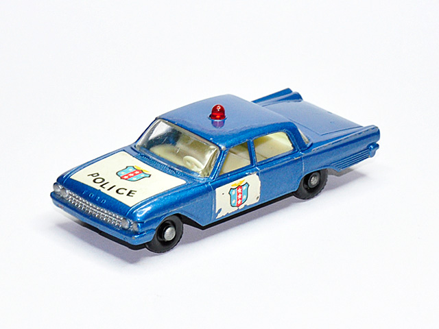 matchbox store ford fairlane police car no 55b5. Black Bedroom Furniture Sets. Home Design Ideas